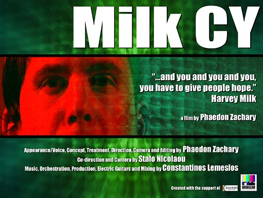 Poster image for the film Milk CY, created by Star Phaedon