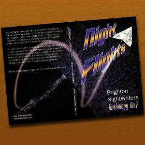 Brighton NightWriters Anthology7 book cover design